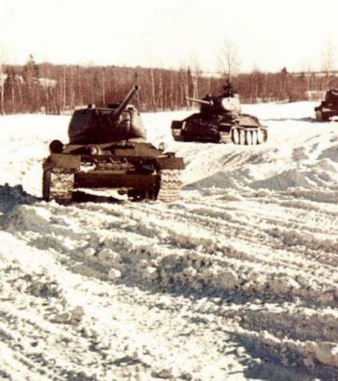 Танк т-34 в маньчжурии